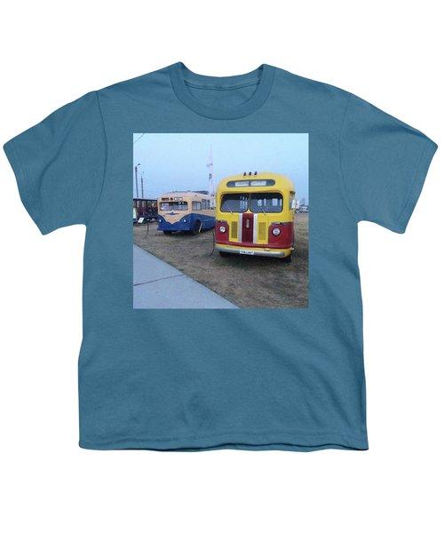 Retro Bus Youth T-Shirt