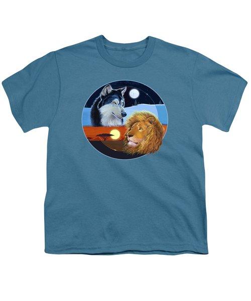 Celestial Kings Circular Youth T-Shirt by J L Meadows