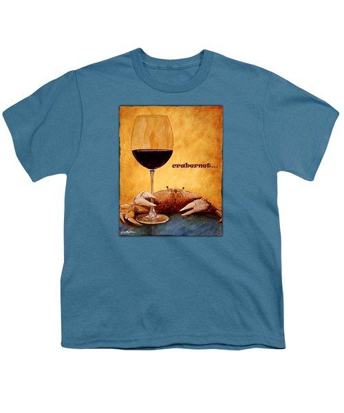 Crabernet... Youth T-Shirt