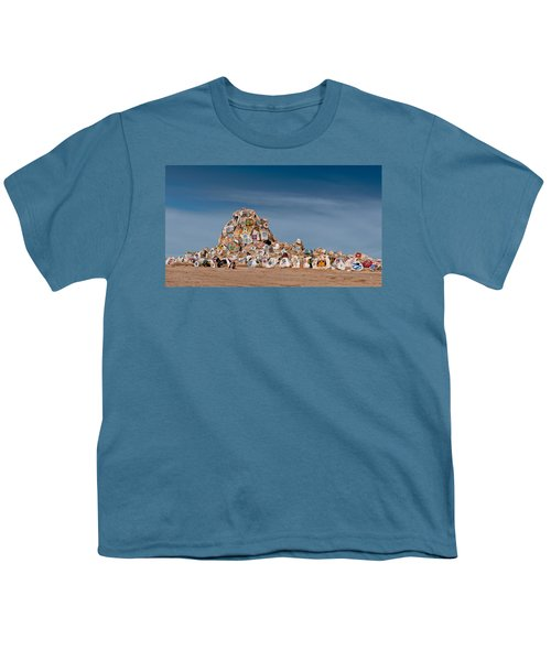Youth T-Shirt featuring the photograph Fort Irwin by Jim Thompson