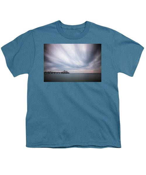 10 Minute Exposure Of Eastbourne Pier Youth T-Shirt