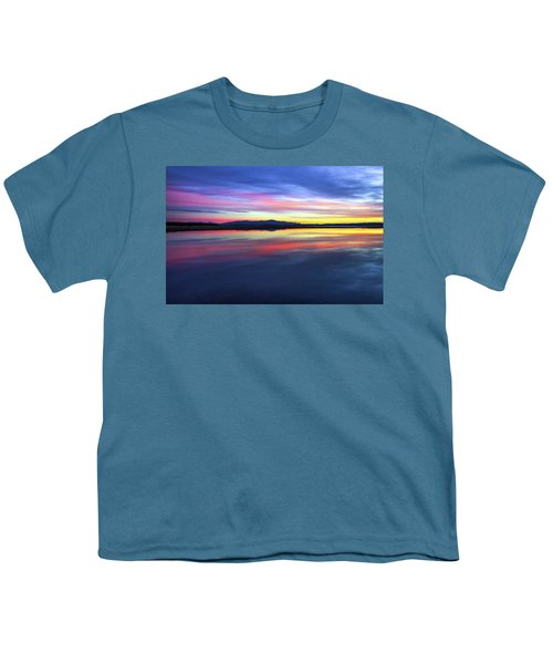 Lake Winnipesaukee - Layers Youth T-Shirt