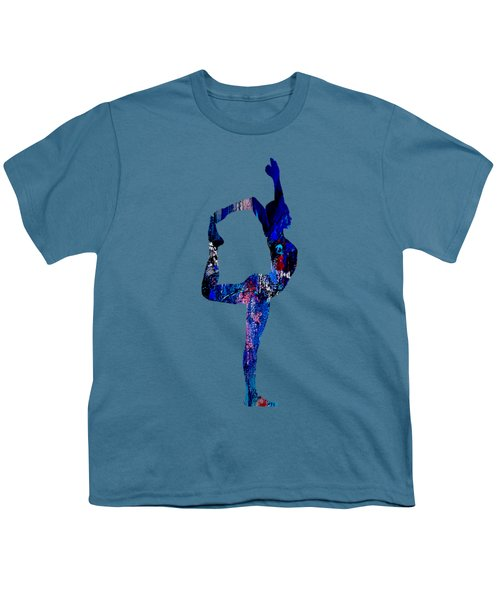 Yoga Collection Youth T-Shirt by Marvin Blaine