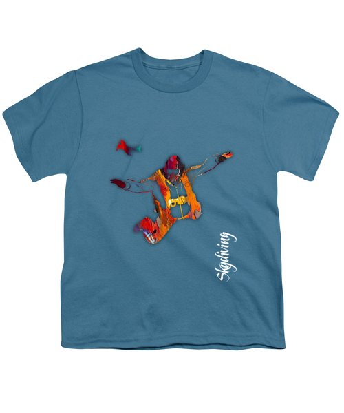 Skydiving Collection Youth T-Shirt by Marvin Blaine