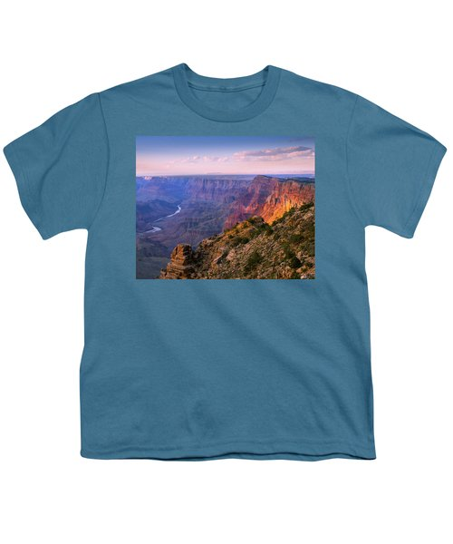 Canyon Glow Youth T-Shirt by Mikes Nature