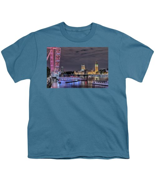 Westminster - London Youth T-Shirt by Joana Kruse