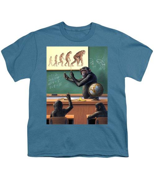 A Specious Origin Youth T-Shirt by Jerry LoFaro