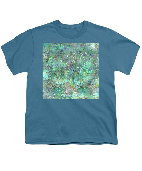 Abstract No. 7-1 Youth T-Shirt by Sandy Taylor
