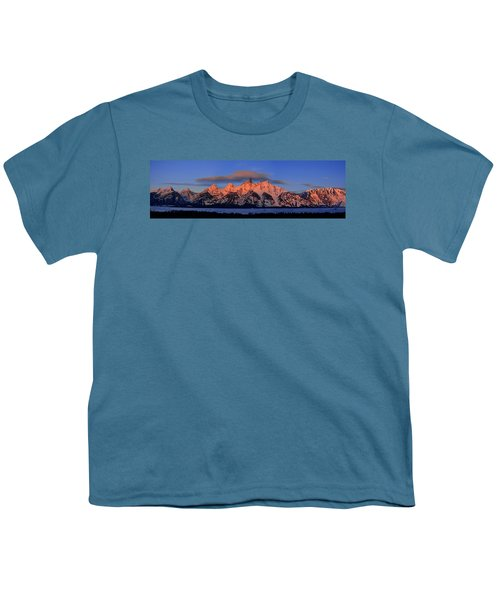Alpenglow Tetons 2 Youth T-Shirt