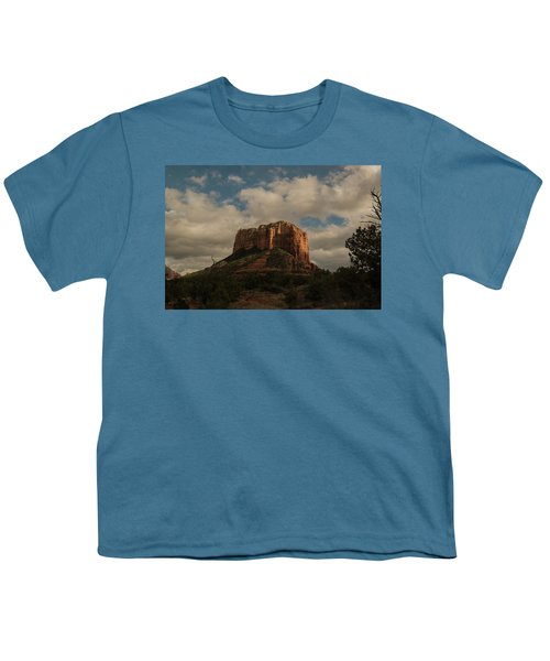 Arizona Red Rocks Sedona 0222 Youth T-Shirt by David Haskett