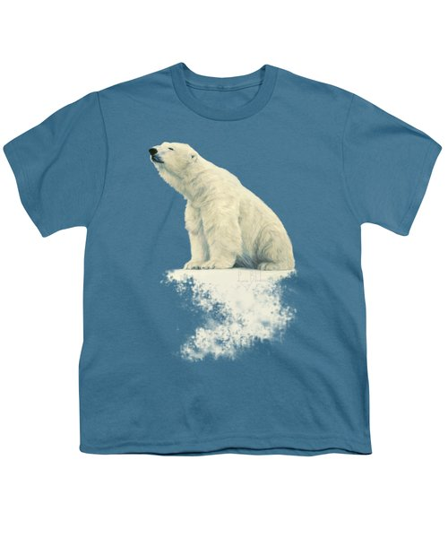 Something In The Air Youth T-Shirt by Lucie Bilodeau