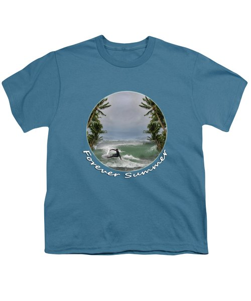 Youth T-Shirt featuring the photograph Forever Summer 2 by Linda Lees