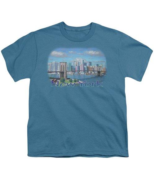New York Brooklyn Bridge Youth T-Shirt