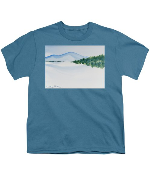 Bathurst Harbour Reflections Youth T-Shirt