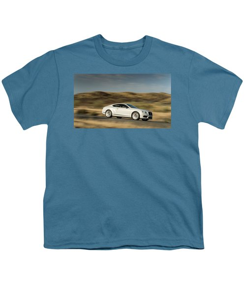 Bentley Continental Gt V8 Youth T-Shirt
