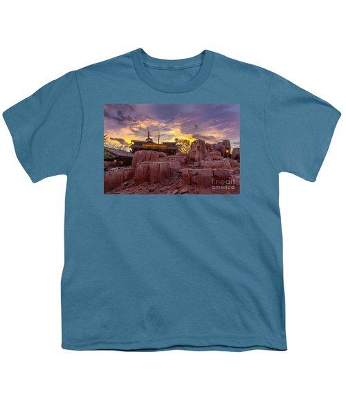 Big Thunder Mountain Sunset Youth T-Shirt