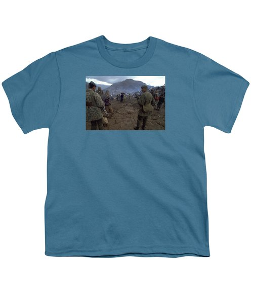 Youth T-Shirt featuring the photograph Border Control by Travel Pics