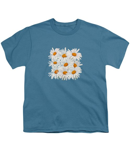 Bouquet Of White Daisies Youth T-Shirt