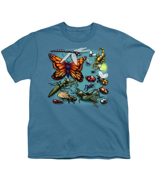 Bugs Youth T-Shirt by Kevin Middleton