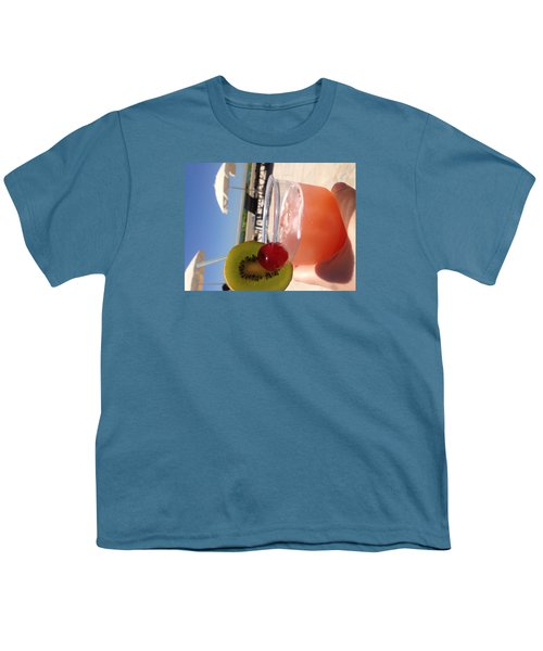 Cocktail Youth T-Shirt by Brooke Hooker