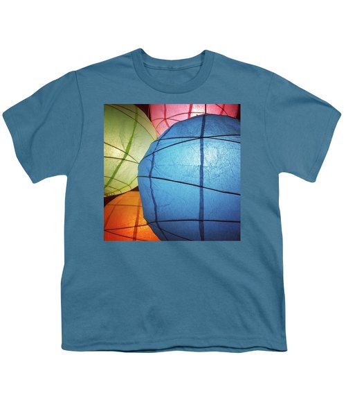 Colorful Paper Lanterns Youth T-Shirt