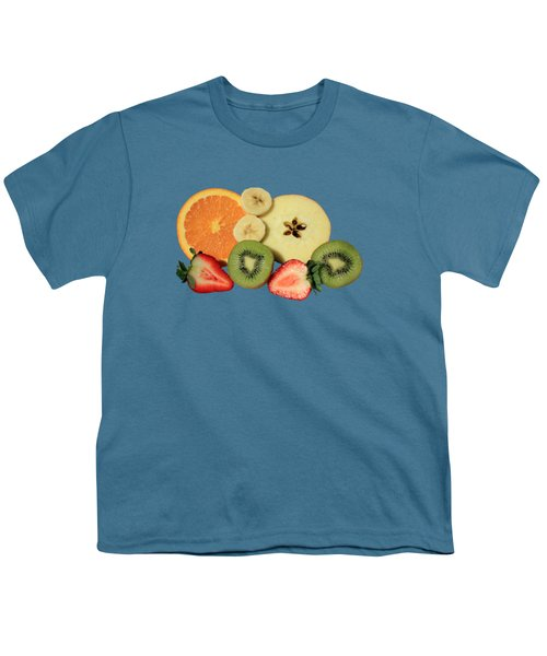 Cut Fruit Youth T-Shirt by Shane Bechler