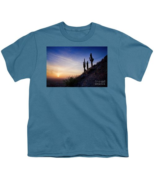 Days End In The Desert Youth T-Shirt