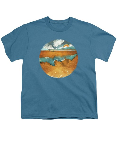 Desert Lake Youth T-Shirt by Spacefrog Designs