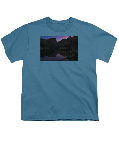 Youth T-Shirt featuring the photograph Dream Lake Reflections by Gary Lengyel