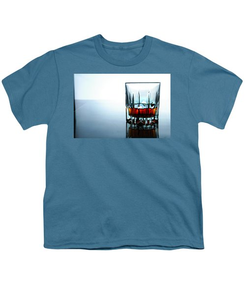 Drink In A Glass Youth T-Shirt by Jun Pinzon