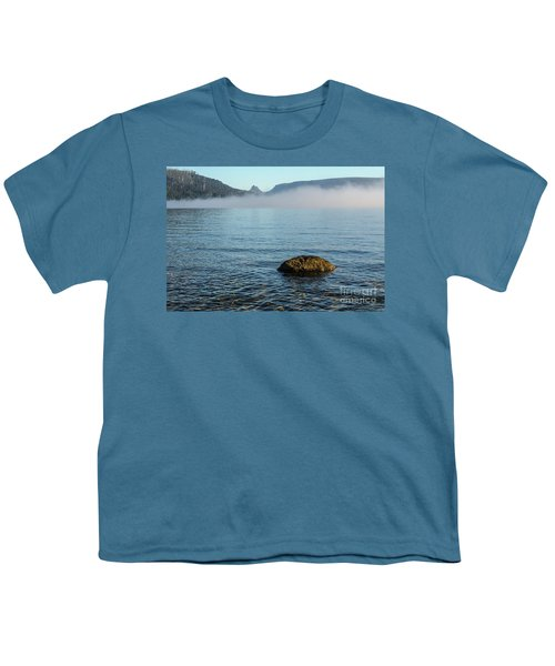 Youth T-Shirt featuring the photograph Early Morning At Lake St Clair by Werner Padarin