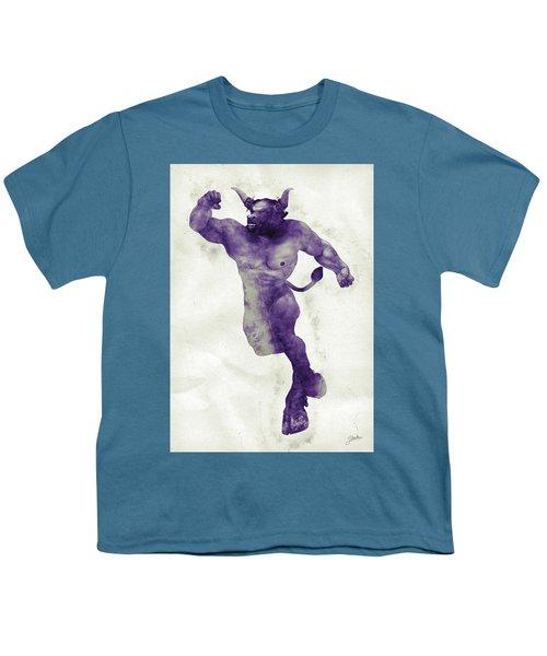 El Torito Guapo Youth T-Shirt by Joaquin Abella