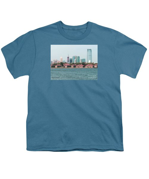 Ellis Island And Nyc Youth T-Shirt