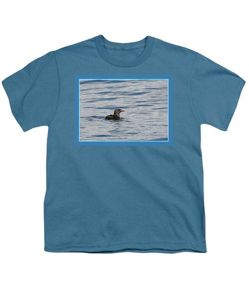 Floating Rhino Youth T-Shirt by BYETPhotography