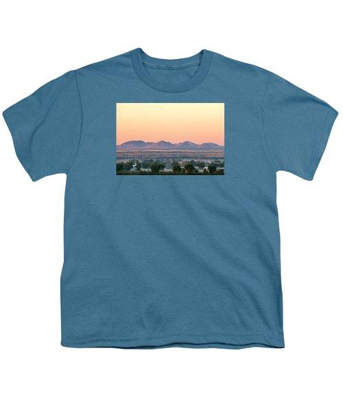 Foggy Harlem Bottom Youth T-Shirt by Todd Klassy