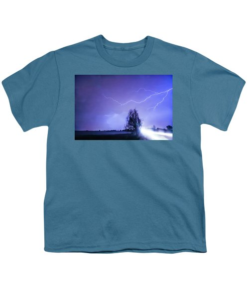 Youth T-Shirt featuring the photograph Ghost Rider by James BO Insogna