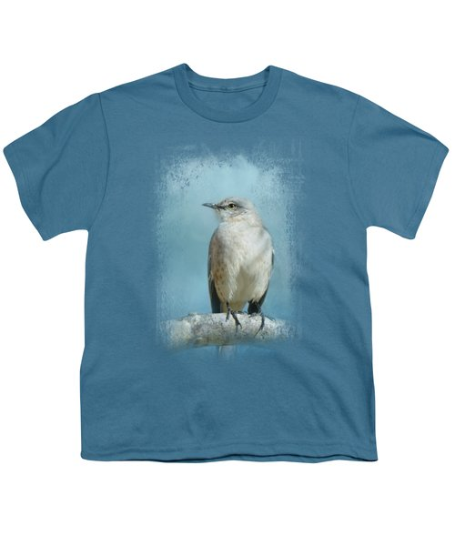 Good Winter Morning Youth T-Shirt by Jai Johnson