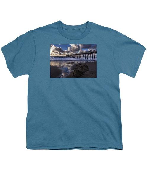 Hermosa Beach Pier Youth T-Shirt