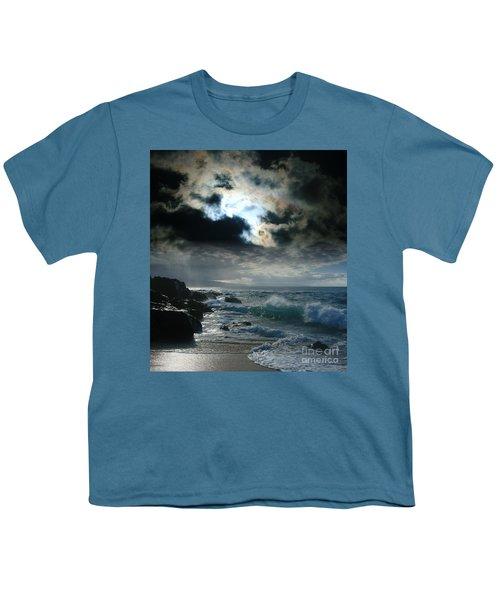 Hookipa Waiola  O Ka Lewa I Luna Ua Paaia He Lani Maui Hawaii  Youth T-Shirt by Sharon Mau