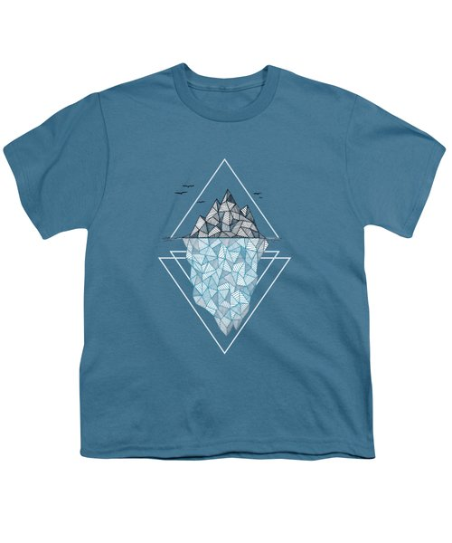 Iceberg Youth T-Shirt by Barlena