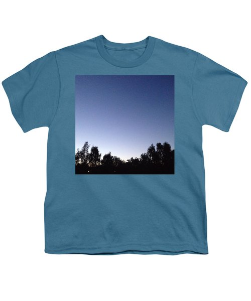 Evening 2 Youth T-Shirt by Gypsy Heart