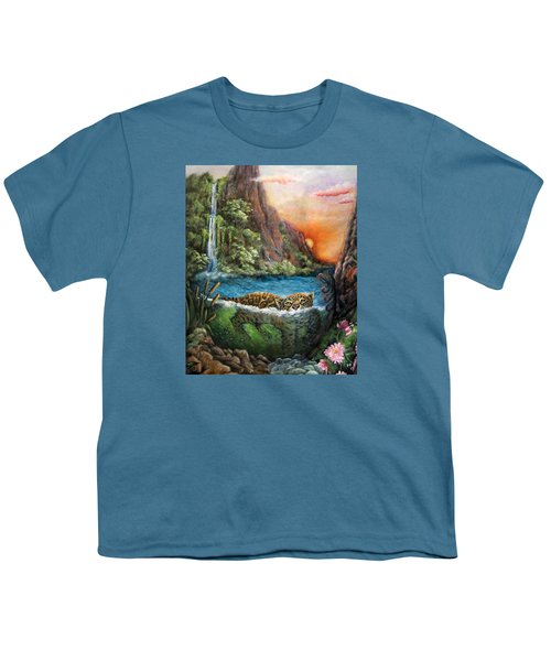 Jaguar Sunset  Youth T-Shirt