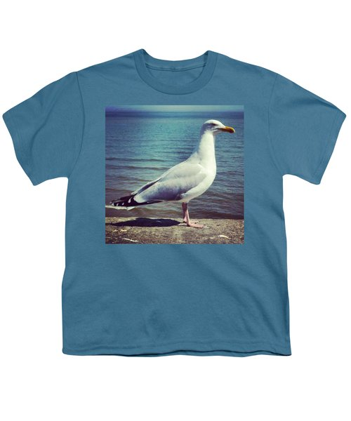 Just Chillin #seagull Youth T-Shirt