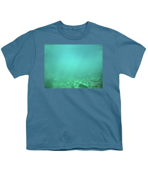 Youth T-Shirt featuring the photograph Light In The Water by Francesca Mackenney