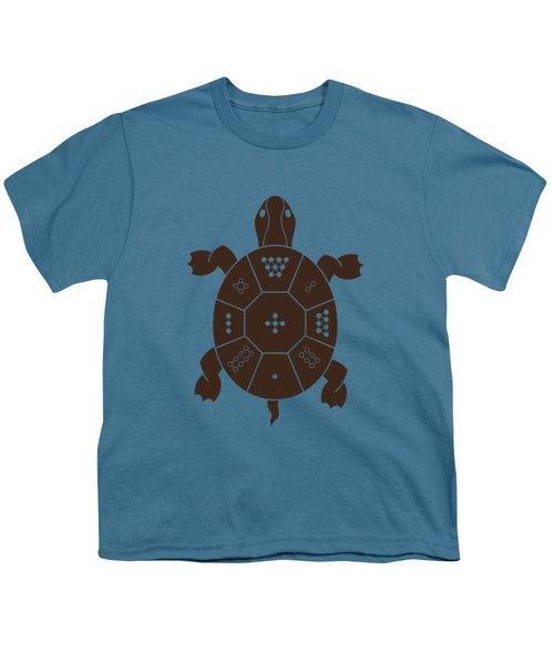 Lo Shu Turtle Youth T-Shirt by Thoth Adan