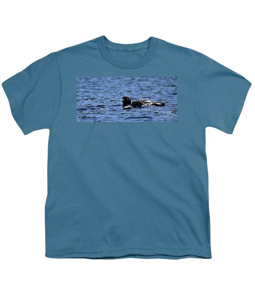 Loon Pan Youth T-Shirt by Skip Willits