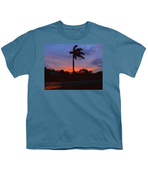 Miami Sunset Youth T-Shirt