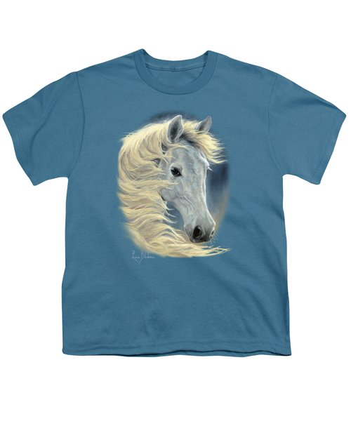 Midnight Glow Youth T-Shirt by Lucie Bilodeau