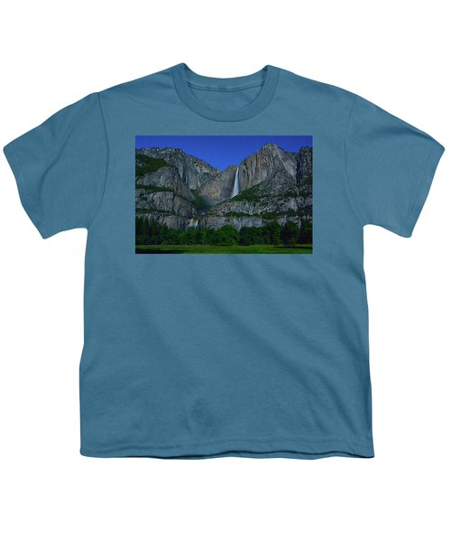 Moonbow Yosemite Falls Youth T-Shirt