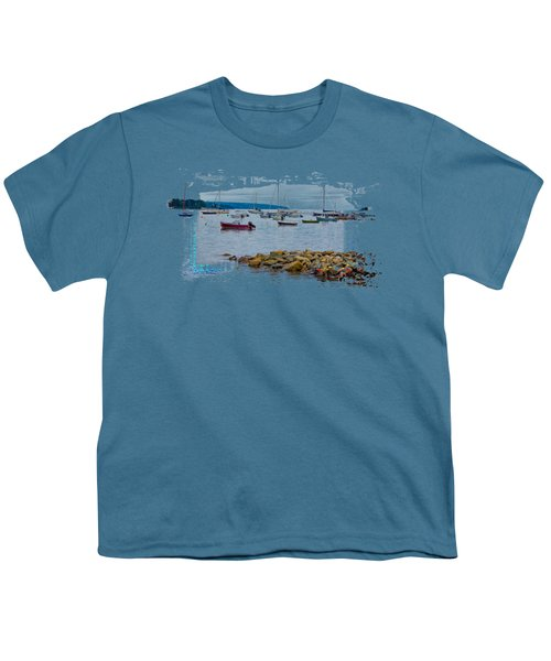 Moorings 2 Youth T-Shirt by John M Bailey